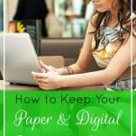 How to Keep Your Paper & Digital Documents Secure | Prioritized Living