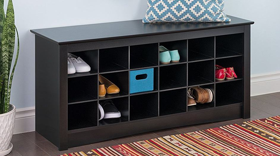 Storage Bench - Cubbies