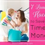 7 Laundry Hacks to Save You Time & Money