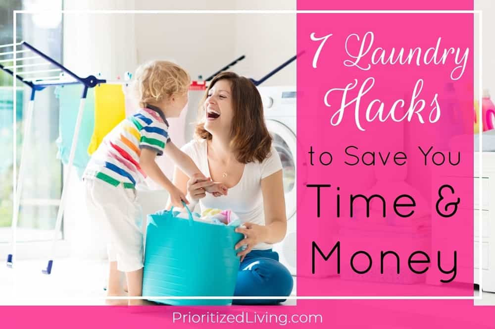 7 Laundry Hacks to Save You Time and Money