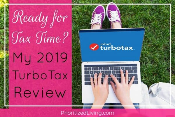 Ready for Tax Time? My TurboTax 2019 Review