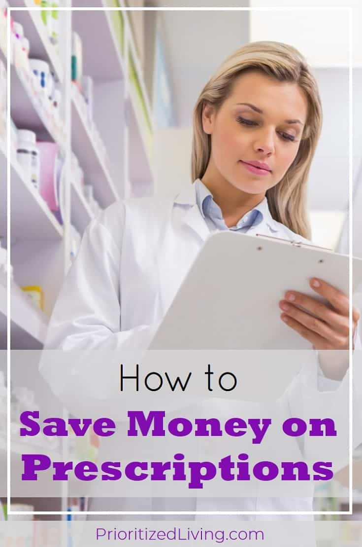 Want to know how to save money on prescriptions and save up bonus cash to cover unexpected medication costs? Try these smart tips to maximize your money! | How to Save Money on Prescriptions | Prioritized Living