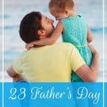 Looking for Father's Day gifts on a budget? These 23 ideas under $100 are perfect presents for that special dad from kids, a wife, or grandchildren! | 23 Father's Day Gifts Under $100 | Prioritized Living