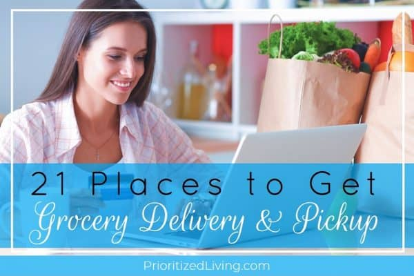 21 Places to Get Grocery Delivery & Pickup Service