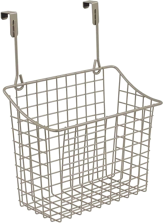 over-the-door cabinet basket