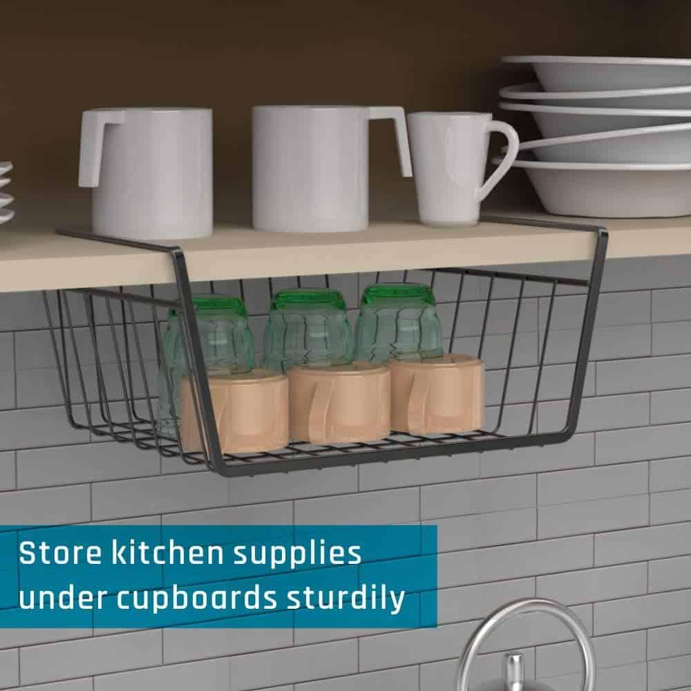 under-shelf basket