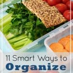 11 Smart Ways to Organize Tupperware & Food Storage Containers