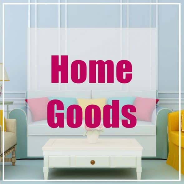 Recommended Resources - Home Goods - Prioritized Living