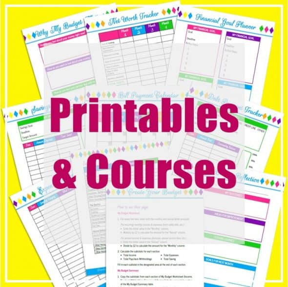 Recommended Resources - Printables and Courses - Prioritized Living