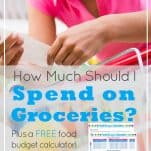 How Much Should I Spend on Groceries?