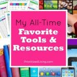 My All-Time Favorite Tools & Resources
